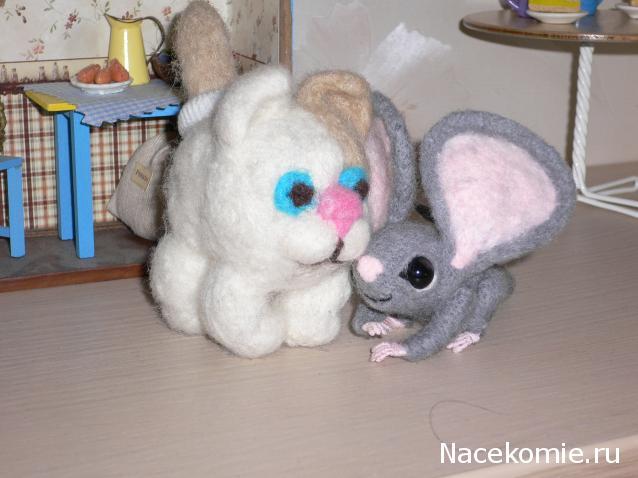 знакомство с зайцем животное