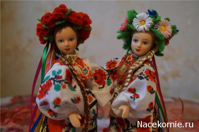 Как сшить украинский костюм на куклу