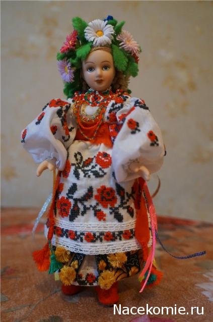 Одежда Для Кукол Выкройки Как сшить украинский костюм на куклу