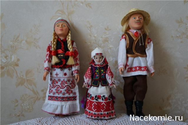 Кукла в белорусском костюме своими руками