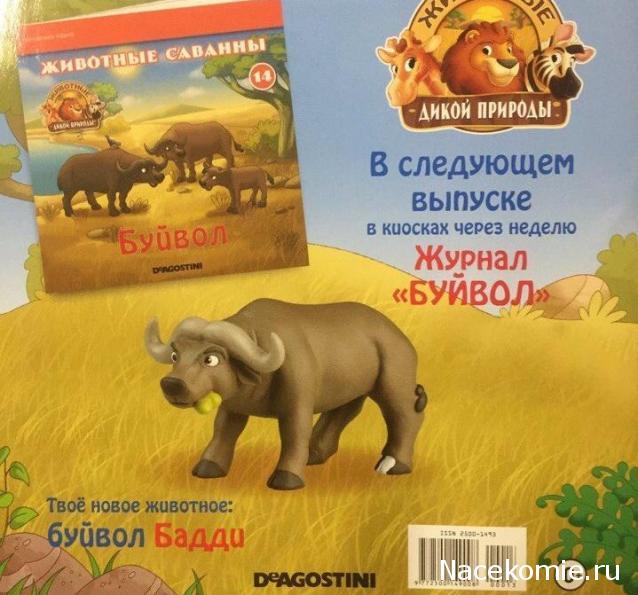 Животные Дикой Природы №14 - Буйвол Бадди