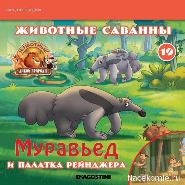 Животные Дикой Природы №19 - Самка Муравьеда Мурми и 1-ая часть палатки рейнджеров