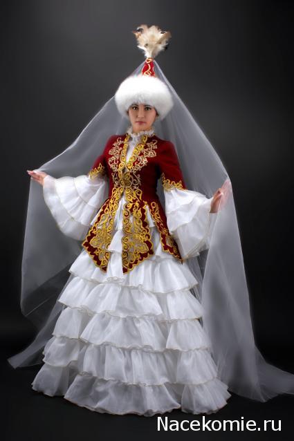 Казахский национальный костюм сшить 92