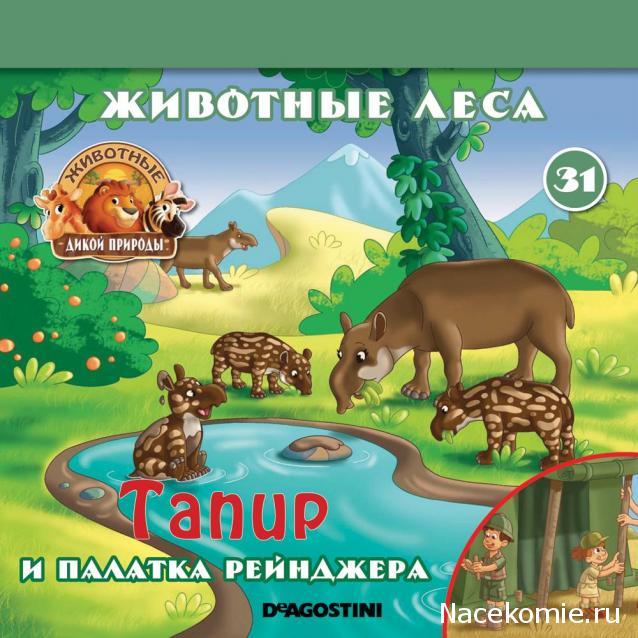Животные Дикой Природы №31 - 5-ая часть палатки рейнджеров (крыша)