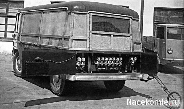 Автолегенды СССР и Соцстран №225 Электромобиль НАМИ-750