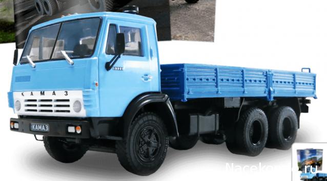Автолегенды СССР Грузовики №24 - КамАЗ-5320