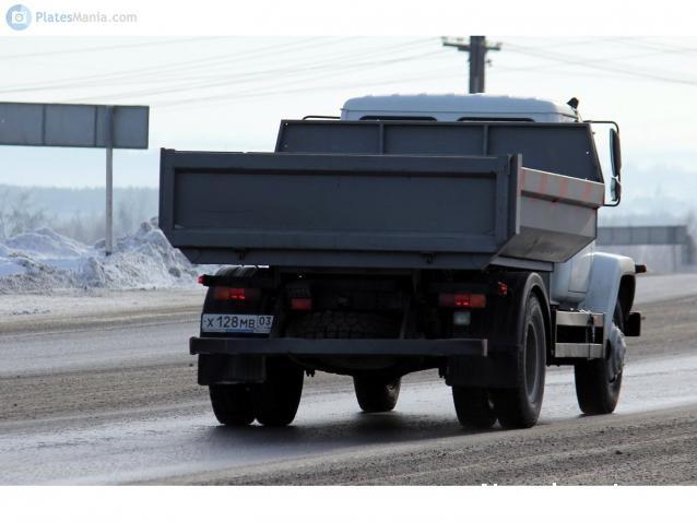 Автолегенды СССР Грузовики №32 - ГАЗ-35072