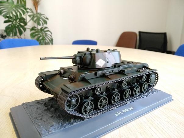 Наши Танки №33 - КВ-1 (1942 г.)