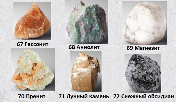 Итоги сборки четвертого кейса и выбор лучших минералов из 4-й 20-ки