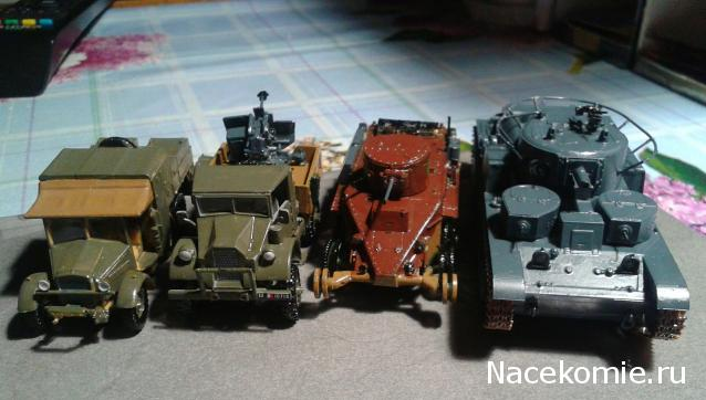 Фото наших коллекций бронетехники