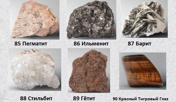 Итоги сборки пятого кейса и выбор лучших минералов из 5-й 20-ки