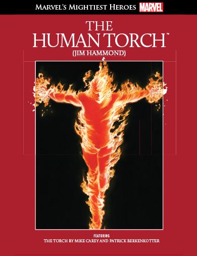 Супергерои Marvel №16 - Человек-Факел