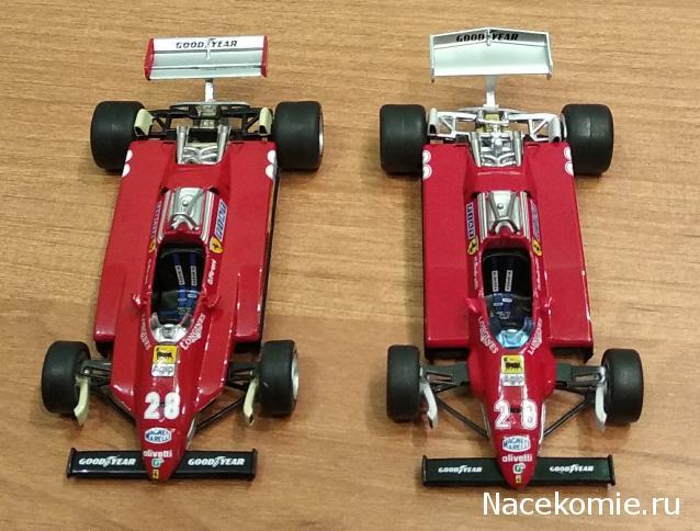 Formula 1 №15 - Ferrari 126 C2 Марио Андретти (1982)