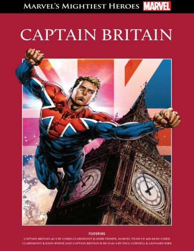 Супергерои Marvel №45 - Капитан Британия