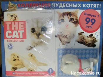 The Cat Collection журнал с игрушкой котенком (тестовая серия)