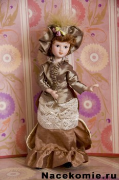 Журнал с куклой Дамы Эпохи