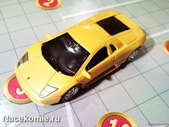 Моделька Эксмо Лучшие автомобили мира
