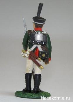 Наполеоновские Войны журнал с оловянной фигуркой воина