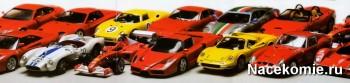 Ferrari Collection коллекция масштабных моделей 1:43