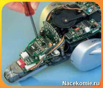 Инструкция по сборке робота шпиона