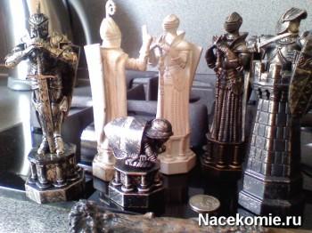 Шахматные фигуры из журнала Шахматы Гарри Поттер