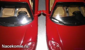 ferrari collection Фары у моделей из Тестовой и Основной серии (тестовая справа)
