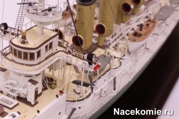 Модель крейсера Варяг из журнальной серии Корабли России