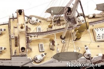 Модель крейсера Варяг от ооо Моделист
