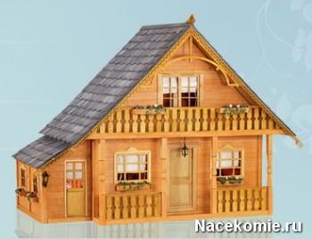 Моя Дача в миниатюре Модель дома