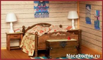 Моя Дача в миниатюре Главная спальня