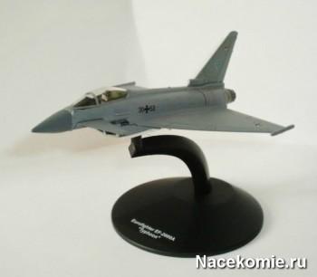 "Модель самолёта Еврофайтер EF-2000A ""Тайфун"" из коллекции"