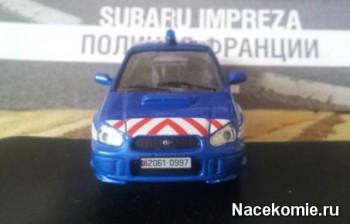 Subaru Impreza модель из коллекции