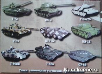 Коллекция моделей бронетанковой техники