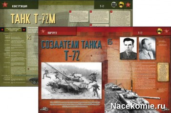 Разворот журнала Русские Танки