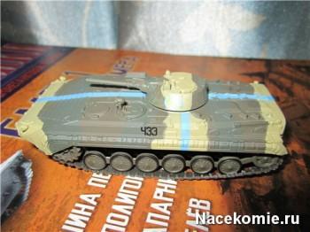 Модель танка БМП-1