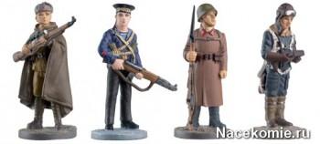 Фигурки солдат в коллекции