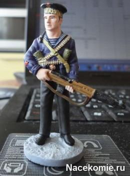 Краснофлотец морской пехоты xёрноморского ВМФ