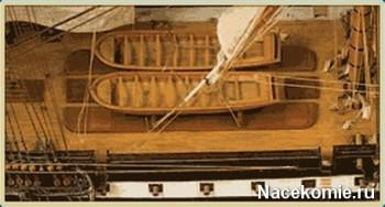 Модель корабля из журнала Двенадцать Апостолов