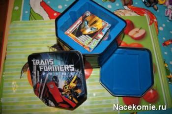 Коробка для хранения карточек Трансформеры Прайм