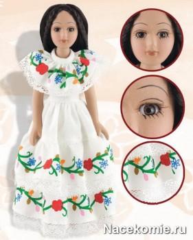 Каждая кукла коллекции проработана до мельчайших деталей