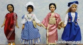 Куклы из тестового выпуска