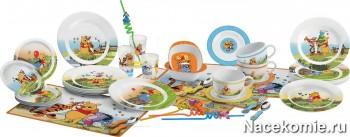 Набор посуды из коллекции Веселые Истории «Винни и его друзья»