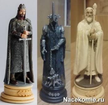 Фигурки из первых выпусков коллекции Власетлин колец