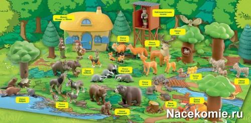 Коллекция Животные Леса с Фёдором и Фёклой