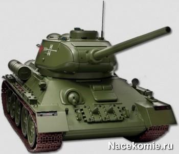 Соберите модель танка Т-34 в масштабе 1/16
