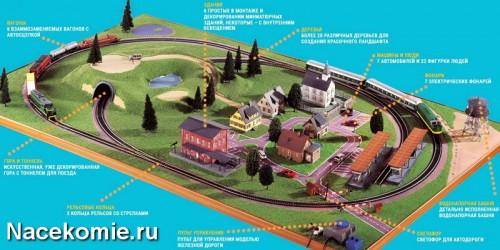 Макет железной дороги (eaglemoss)