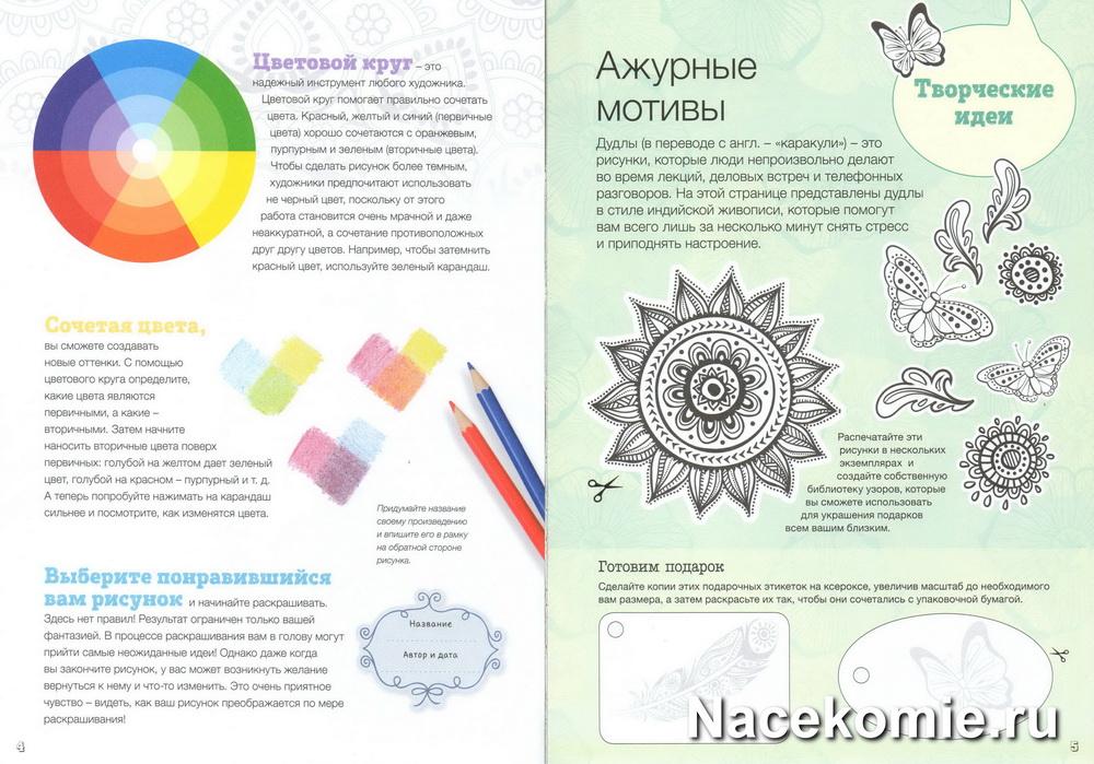 Страницы журнала Арт-терапия