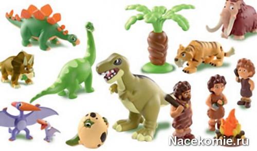 Коллекция Динозавры от ДеАгостини