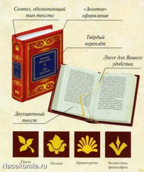 Коллекция книг Шедевры мировой литературы в миниатюре