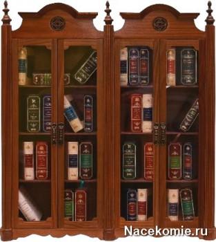 Шкаф для хранения коллекции миниатюрных книг